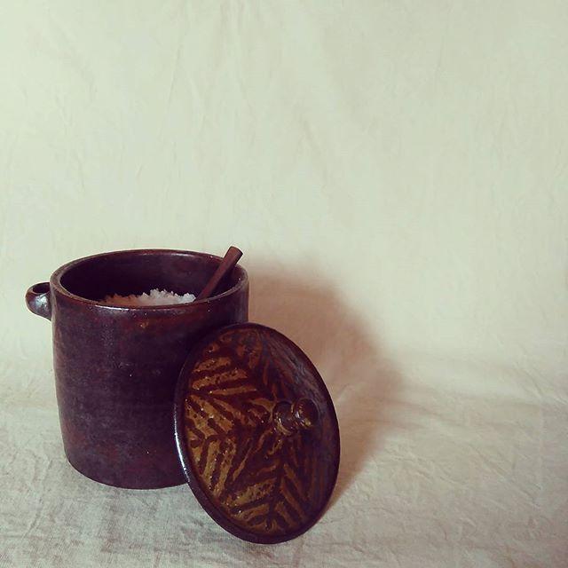 我が家では、塩壺。 - from Instagram