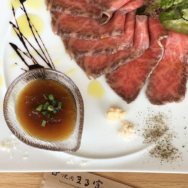 先日のこと。本日オープンされた 焼肉まる富 四条河原町店。素晴らしいロケーション、落ち着いた雰囲気の中で、一頭買いならではの上質なお肉と新鮮な地場野菜が愉しめる焼肉店です!ランチのおまかせコースがオススメ。京都マルイの8階へ。#焼肉まる富