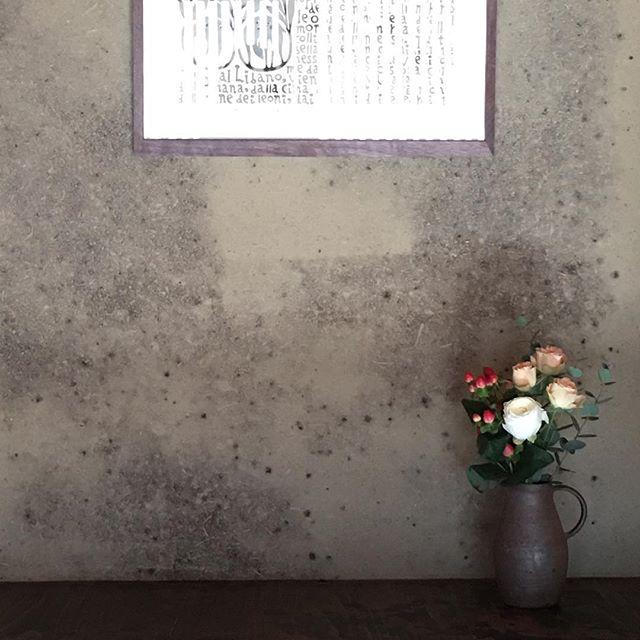 たまにはこんな花も。焼〆ピッチャー@jojosusumu