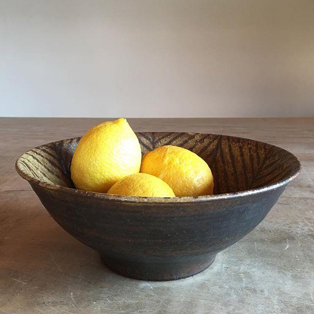 春近し。レモンイエローが気になる。・新作の麺鉢いかがですか?・城 進 陶展 開催中2/26(月)までsumica栖(横浜)にて@utsuwa_sumica @jojosusumu