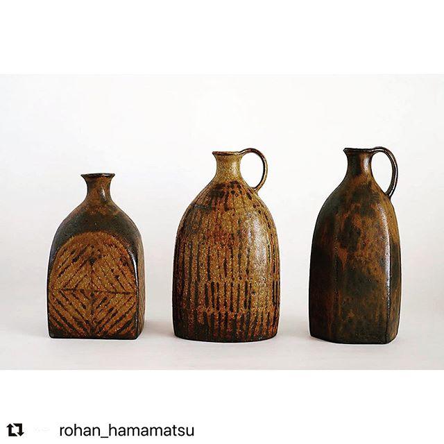 次の展示会のお知らせです。5/29(金)〜6/15(月)Rohan(浜松)にて今回は残念ながら在廊いたしません。通販対応もしてくださるのでお気軽にお問い合わせ下さいませ。@rohan_hamamatsu #Repost @rohan_hamamatsu with @make_repost・・・【店舗営業の変更について】全国的な緊急事態宣言の解除を受け、予定を少し前倒しし、今週末30日(土)午後から通常営業と致します。・混雑を避けるため入店をお待ち頂く場合があるかもしれませんのでご了承下さいませ。・29日(金)から城進さんの個展ですので、初日と30日午前までは予約の方のみ、30日午後以降も予約優先にてご案内いたします。ご予約はインスタDM、またはメールにお願い致します。ぜひこの機会に遊びに来て下さいませ!お待ちしておりますー^ ^・とはいえまだ遠方でお越しになれない方も多いかと思います。作品インスタでも引き続きご紹介していきますので、気になる方はお気軽にDMやメールでお問い合わせ下さいませ。